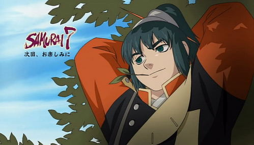I amor the anime samurai 7, Katsushiro (The one in the picture) is so awesome. *.*