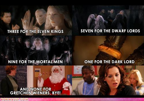 i cant stand lord of the rings but i like this...funny!