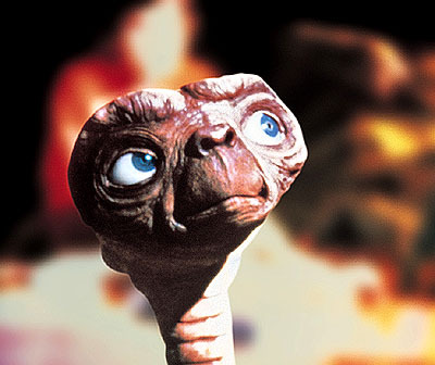 That's because I am E.T.: The Extra-Terrestrial.