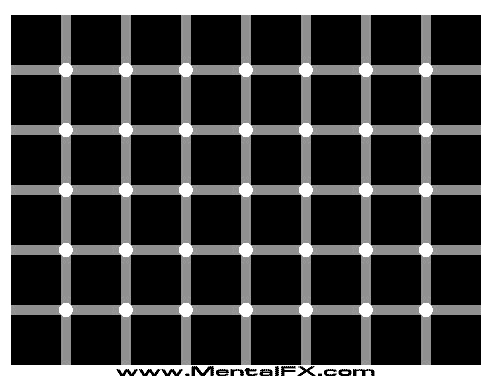 How many black dots do toi see?
