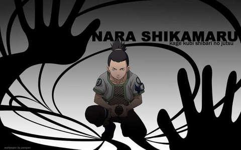 鹿丸 Nara. He may be lazy, but he has a very very very very high IQ