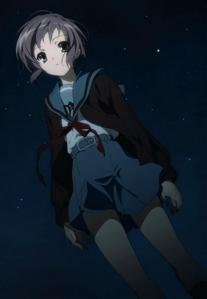 Yuki Nagato.. definitely. XD
