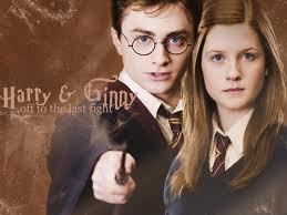 fleur and bill and harry and ginny