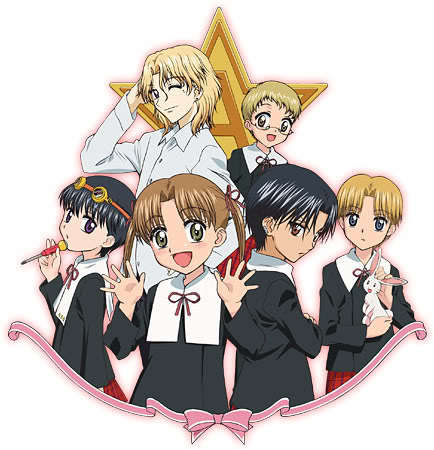 Gakuen Alice most definetely and im currently obsessed with it haha