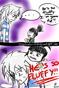 """écriture """"*Hugs my bakura doll* HE'S SO FLUFFY IM GONNA DIE!!!"""