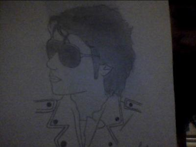 TaDa! My drawing of my inayopendelewa singer MJ! Lol it's not the best...but I tried ^.^