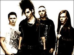 Tokio hotel Because their song are very meaningful,beautiful,and....AWESOME.Oh,Also,i like their style of music. =)