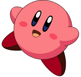 His eyes are just to irresistable! I mean who would not think Kirby is adorable? He is always happy, never sad and always adorable!