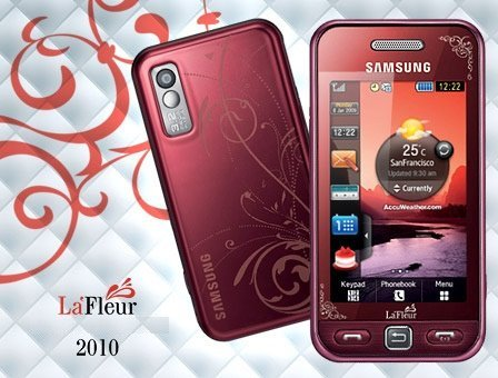 For giáng sinh , my parents bought me Samsung S5230 La fluer : ) My other phone was terrible ..
