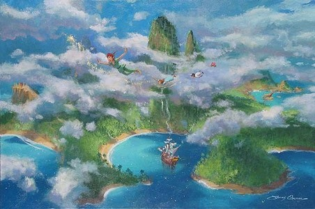 Neverland would be sweet.