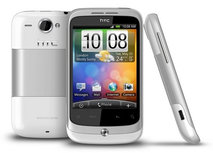 HTC wildfire. Best phone Ive had yet :P