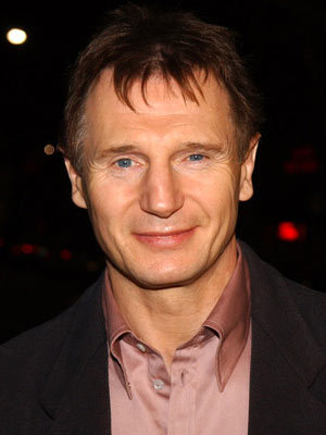 so many. but I always thought Liam Neeson was ultra handsome. & he has such an awesome voice
