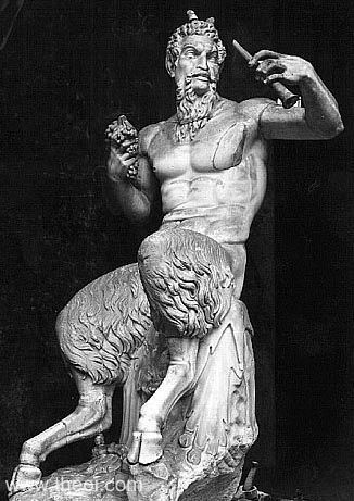 I don't know why, but my favorites have always been Pan, the goat god of mga hayop and flocks. And after that, his father Hermes.