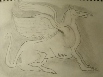 The Griffin. It's nothing special, but it's one of my best drawings.