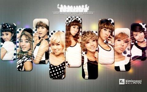 tiffany and yuri taeyeon and seohyeon jessica and yonna sunny, hyoyeon and seoyoung