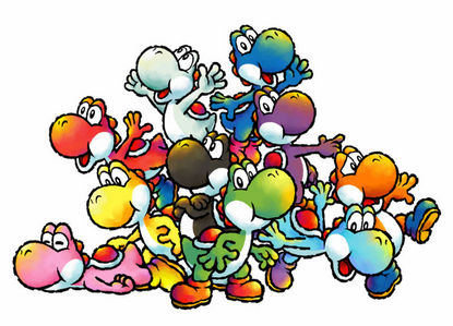 its a 虹 of yoshi!