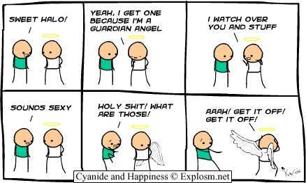 CYANIDE AND HAPPINESS THE BEST COMIC STRIP EVER, NO BIG DEAL!!!