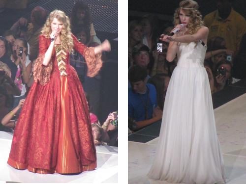 taylor swift love story dress fearless tour wwwpixshark