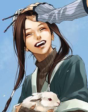 Haku from Naruto! I still want to call him a girl! He looks and sounds like a girl.