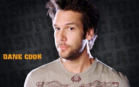 Listening to Dane Cook jokes on my ipod. He is so awesome.
