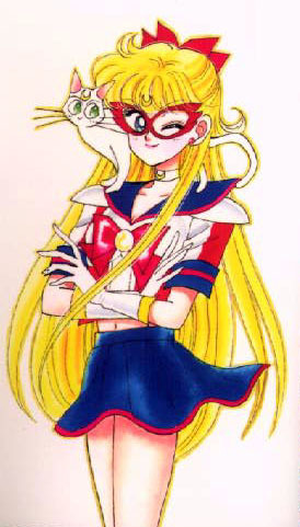 SAILOR V! ...If that counts...