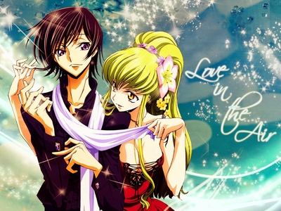 I have [i][b]alot[/i][/b] of animê wallpapers! I change them every so often but right now its C.C and Lelouch from Code Geass~!