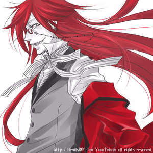 My first anime crush was Marik Ishtar from Yu Gi Oh! but is now Grell O//w//O