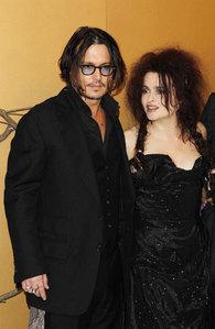 Johnny Depp and Helena Bonham Carter :)
