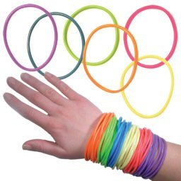 Just for those of te who are wondering what these things are: http://www.urbandictionary.com/define.php?term=Jelly%20bracelets