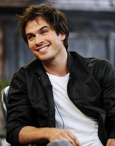 Mine is Ian Somerhalder ( Damon from The Vampire Diaries ) because he's SOOOO hot and that he is an amazing person .