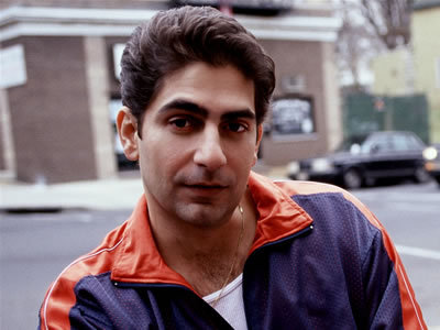 Mine is Michael Imperioli (isn't he hot in this pic? ♥)
