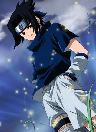 sasuke from Naruto!