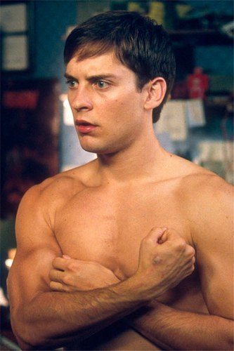I liked the old spiderman who is Tobey Maguire..They shouldnt have changed.This new guy is ugly to me!Tobey Maguire<3