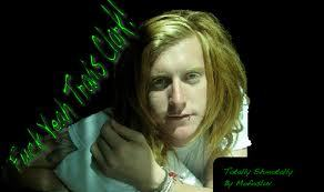 Lots of people, but my main one right now is Travis Clark from We The Kings. * best band EVAAA!!! * (red heads r smexy )
