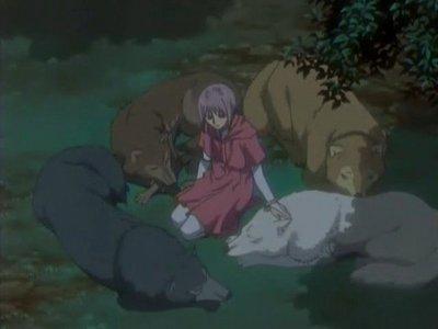 Cheza from Wolf's Rain and Rini from Sailor Moon!