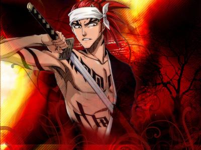 Garaa-Naruto Erza-Fairy Tail Renji-Bleach Jinta-Bleach Madam Red-Black Butler
