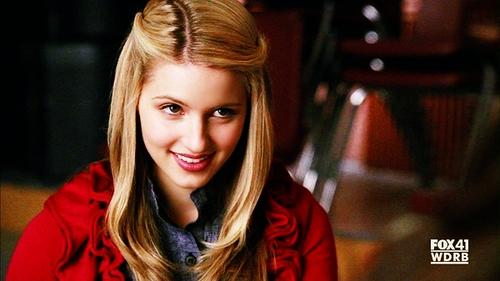 Quinn Fabray from Glee! I lovee her <33333
