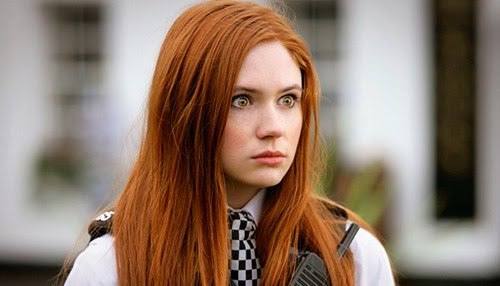 I've got millions, but I'm going to have to say Amy Pond from Doctor Who at the moment. She's just so funny and headstrong and an alpha female. And gorgeous.
