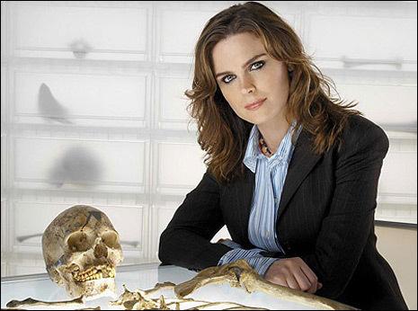 """Temperance """"Bones"""" Brennan from Bones."""
