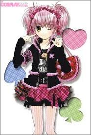 Her name is Amu Hinamori from shugo chara.
