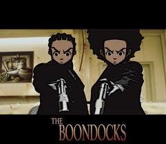 Riley and Huey Freeman from the Boondocks