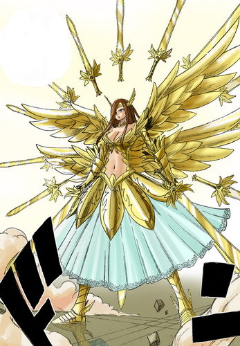 Um,I'm not sure if this counts but,I 发布 this anyway of Erza after she reequips to another armor..