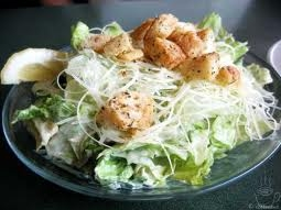 Caesar Salads:3 well actully anykind of salad but my fave is the Caesar salad