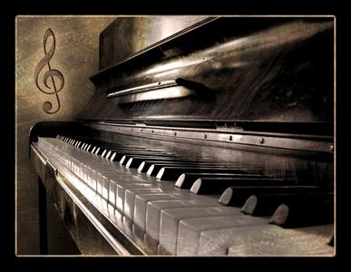 The piano. <3