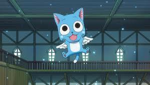 Happy-Fairy Tail Ein-Cowboy Bebop