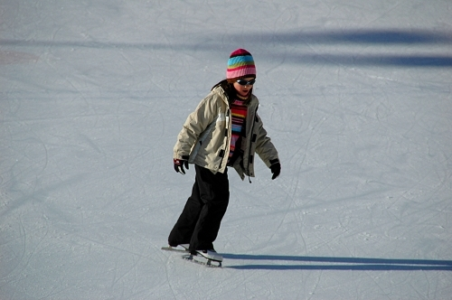 Although I've ice-skated only 3 times in my life I really pag-ibig it!