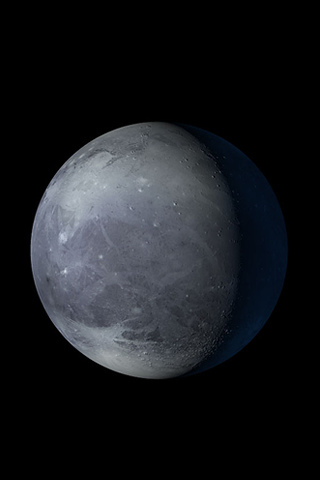"""""""Pluto is my type of natural home. It's small enough for only me to exist upon."""""""