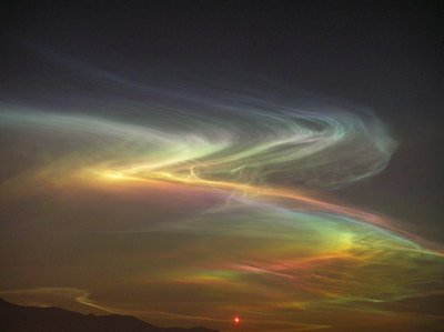 Na im not scared of the Northern lights they're really pretty :)