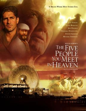 The Five People wewe Meet In Heaven, it's the best movie I've ever seen and the book is amazing, but I always tear up from it. Also, For One zaidi siku is another good one. Yeah I know what you'll probably think when wewe look at my ikoni and the poster for either, but I swear the sinema are amazing, he just happens to be my inayopendelewa actor and be in them.