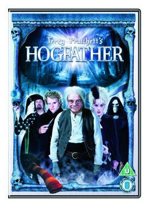 "I very much enjoyed Terry Pratchitt's ""Hogfarter"". Just to let tu know, The skeleton, Death, and the girl with black and white hair, Death's granddaughter Susan, are the goodies. The Blonde guy with the sword, Mister Teh-a-tar-meh, and the Wizard are the Baddies. Yup, weird. Like me! :D. I also liked ""Cry of the Icemark"" and ""Blade of Fire"" por Stuart Hill. Practicly anything with Warrior girls/ Queens/ Princess in it."